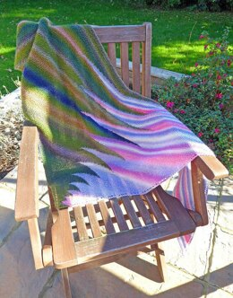 Extended Waves Shawl