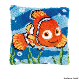 Vervaco Disney - Nemo Latch Hook Cushion Kit - 40 x 40cm