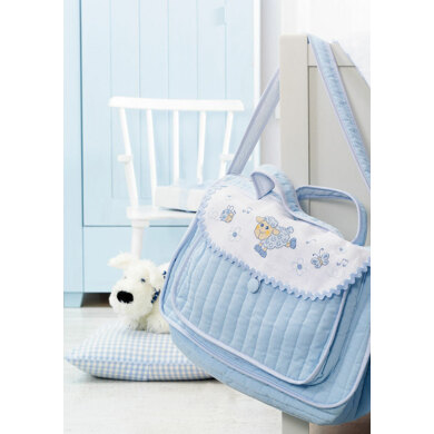 Made with Love - Baby Bag in Anchor - Downloadable PDF