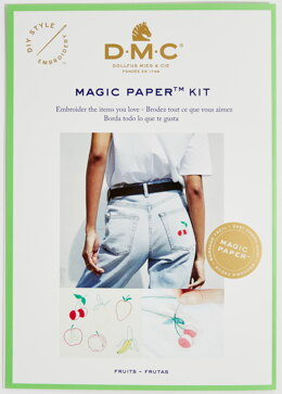 DMC Fruit Magic Paper Embroidery Kit