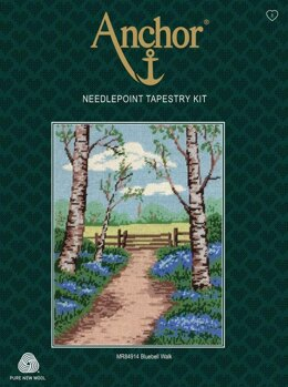 Anchor Bluebell Walk Tapestry Kit - 23 x 30cm
