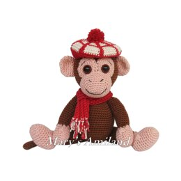 Emilio Monkey the Ami - Amigurumi Crochet Pattern