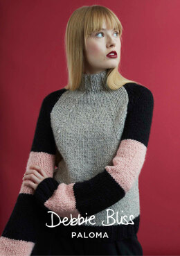 Anni Sweater in Debbie Bliss Paloma - DB222 - Downloadable PDF
