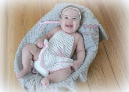 Tessa Skirted Diaper Cover or Romper