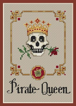 Sue Hillis Designs Pirate Queen (3/pkg) - PS154 - Leaflet