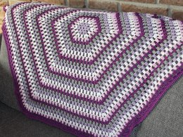 "Baby blanket ""first love"""