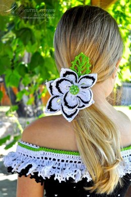 Faerie Dreams Wildflower Pin Crochet