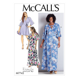 McCall's Misses'/Women's Dresses M7743 - Sewing Pattern