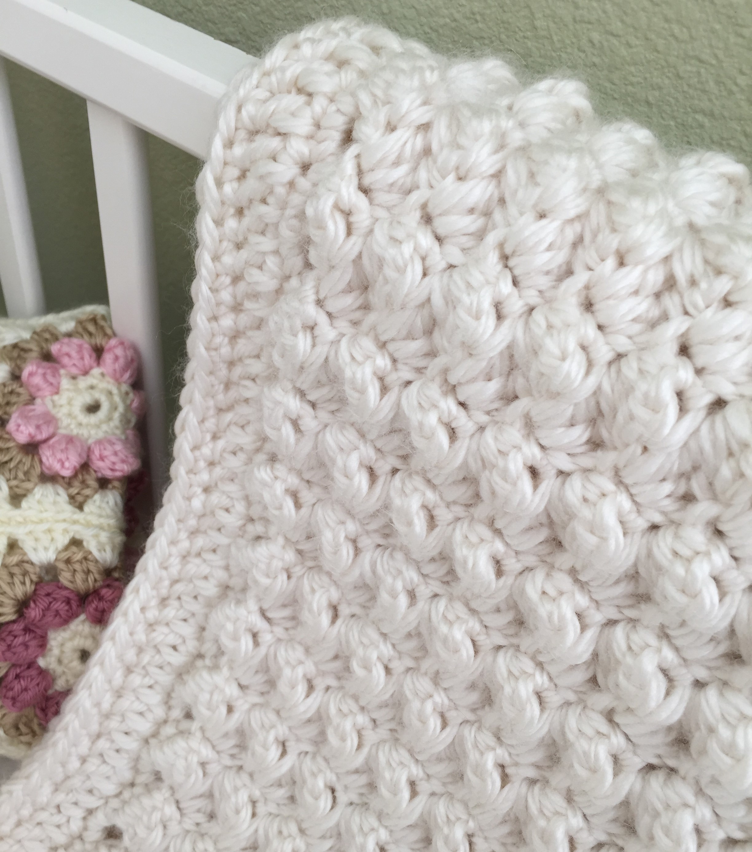 Chunky Baby Blanket Crochet Project By Deborah O