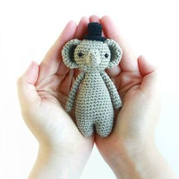 Mini Elephant Crochet Amigurumi Pattern