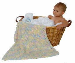 Mini Baby Blanket in Plymouth Heaven - F138