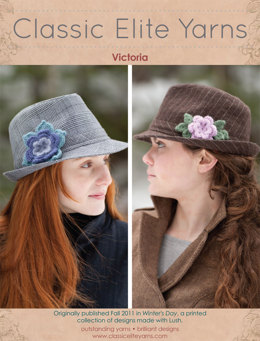 Victoria Flowers in Classic Elite Yarns Lush - Downloadable PDF