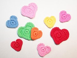 Hearts - applique, decoration