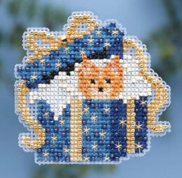 Mill Hill Cat in the Box Cross Stitch Kit
