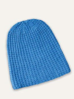 Extra Slouch Hat in Blue Sky Fibers - T19 - Downloadable PDF