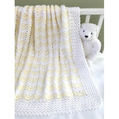Perfect Little Ripple Baby Blanket