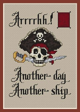 Sue Hillis Designs Arrrgh! (3/pkg) - PS144 - Leaflet