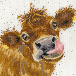 Bothy Threads Moo Cross Stitch Kit