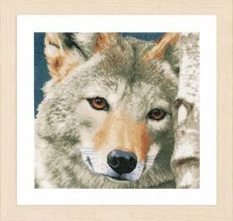 Lanarte Wolf Cross Stitch Kit - Multi