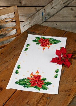 Permin Traditional Lights Tablemat Cross Stitch Kit