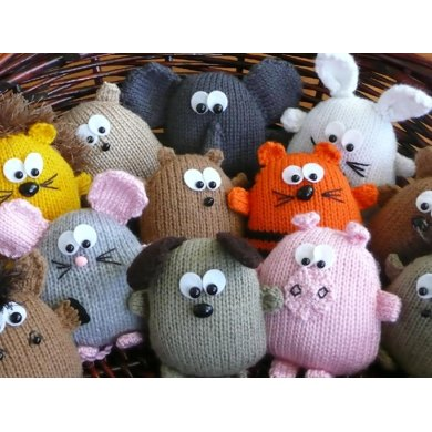 Peters Pals 2 pack - animals and Australian animals Knitting pattern by ...