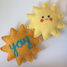 Yay Sunshine Mini Cushion