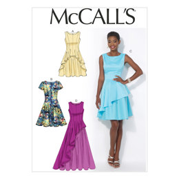 McCall's Misses' Dresses M7091 - Sewing Pattern