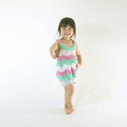 Easy Ripple Toddler Top (or Dress)