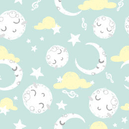 Craft Cotton Company Goodnight - Mint