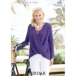 Top in Sirdar Cotton 4 Ply - 7306