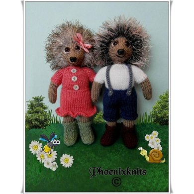 Toby & Tilly Tiggywinkle  Twins