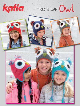 Hats in Katia Kid's Cap Owl