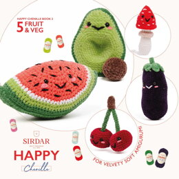 Happy Chenille - 02 - Fruit & Veg by Sirdar