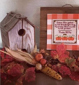 Luhu Stitches Give Thanks Sampler - Downloadable PDF