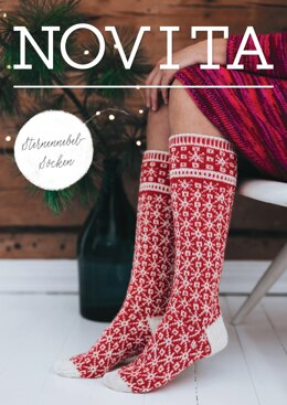 Sternnebel Woolsocken in Novita - Downloadable PDF