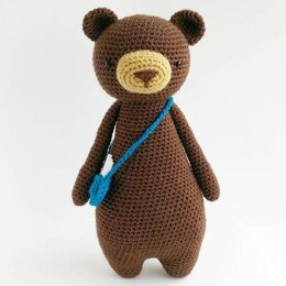 Bear with Bag Crochet Amigurumi Pattern