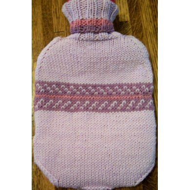 Cozy to Keep You Cozy -- hot water bottle cover