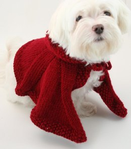 P05 Dog Clothes Puppy Red Riding Hood