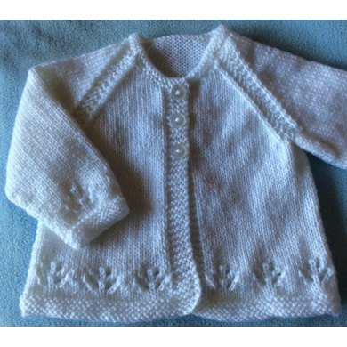 New Born DK Jacket & Toque -Revised