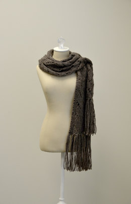 Waving Lace Stole in Universal Yarn Deluxe Chunky