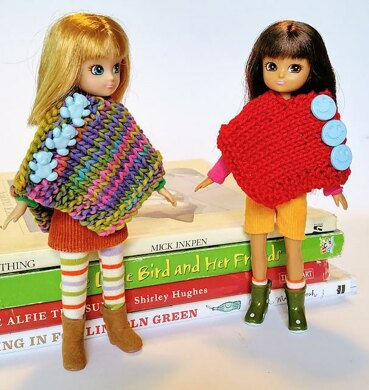 Small Doll Poncho