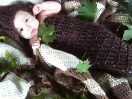 Bulky Hooded Cocoon Pattern