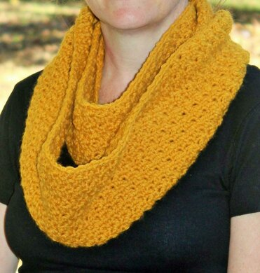 Pure and Simple Infinity Scarf