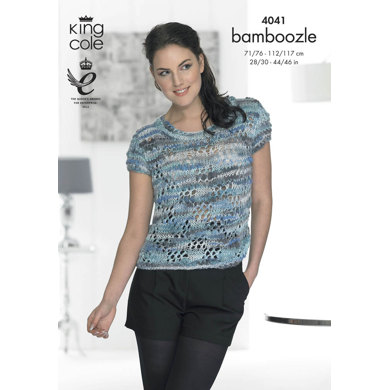 Sweater and Top in King Cole Bamboozle - 4041