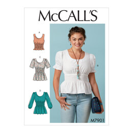 McCall's Misses' Tops M7901 - Sewing Pattern