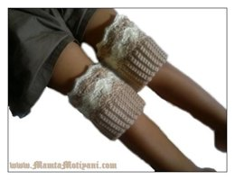 Diane Crochet Boot Cuffs Pattern Stylish & Cool