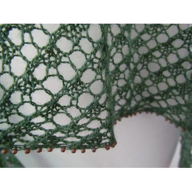 Beaded Inclination Lace Wrap and Scarf