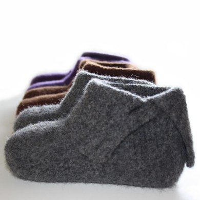 Simply Felted Ladies Slippers