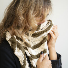 Tramonti Scarf in Hoooked Somen - Downloadable PDF