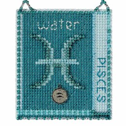 Mill Hill Pisces Cross Stitch Ornament Kit - Multi